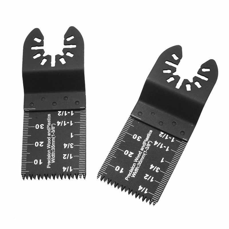 5Pcs Multi-Funktion Bi-metall Präzision Sägeblatt Oszillierende Multitool Sägeblatt für Erneuerer Power Schneiden Multimaster werkzeuge