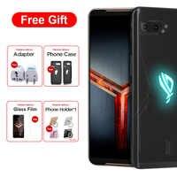 Asus ROG Phone II ZS660KL Dual SIM Mobile Phone 8GB 128GB Snapdragon855+ 6.591080x2340 6000mAh 48MP NFC Android 9.0 ROG Phone 2