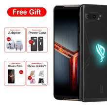 "Asus ROG telefon II ZS660KL Dual SIM telefon komórkowy 12GB 1TB Snapdragon855 + 6.59 ""1080x2340 6000mAh 48MP NFC Android 9.0 ROG telefon 2"