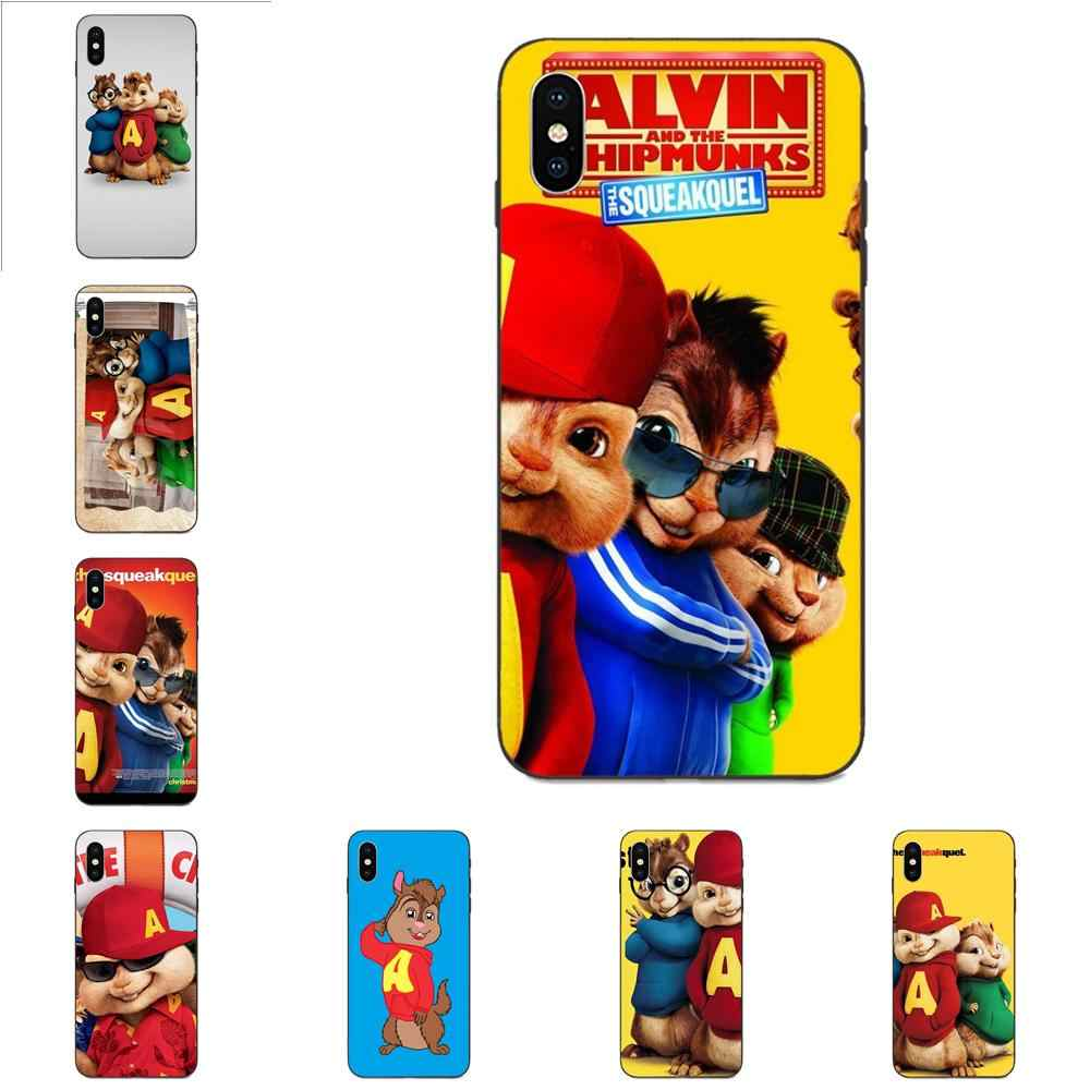 Movie Alvin And The Chipmunks For Apple Iphone 4 4s 5 5s Se 6 6s 7