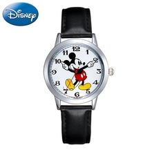 Lovely Mickey Mouse Childhood Dream Disney Cartoon Classic Design Child Quartz Watch Easy Read Student Daily Time Kids Waches