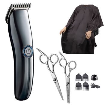 Professional Electric Hair Clippers Men Trimmer Barber Grooming Kit Rechargeable Cordless Haircut Machine professional electric hair clippers men t blade beard trimmer barber grooming kit rechargeable cordless haircut machine