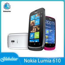 Nokia Lumia 610 Refurbished Unlocked 8GB WCDMA/GSM 5mp Mobile-Phone Windows Wifi Camera
