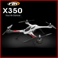 WLtoys Original XK X350 con motor sin escobillas 4CH 6-Axis Gyro 3D 6G modo RC Quadcopter XK truco X350 RTF 2,4 GHz