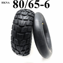 New 80/65-6 Inner Outer Tyre for Electric Scooter E-Bike 10x3.0-6 Thicken Widen Hard Wear-resistant Road Tires Inner Tubes