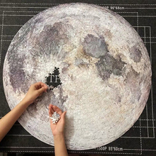1000 Pieces DIY Paper Planet Moon/Earth/Mars Jigsaw Puzzle G