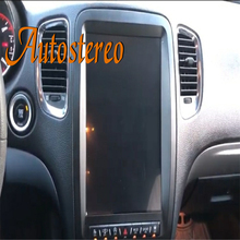 Vertikale bildschirm Tesla stil Android 9,0 auto GPS Navigation für Dodge Durango 2012 + radio band recorder steuergerät Multimedia player