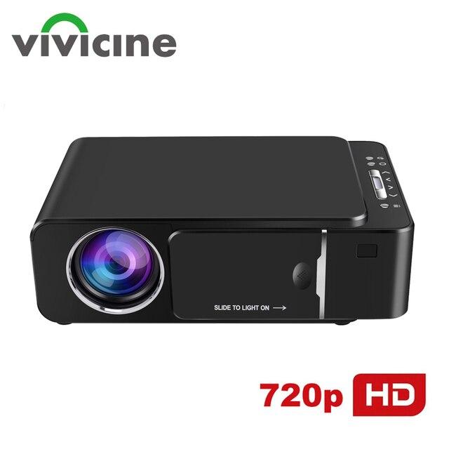 VIVICINE V200H Cầm Tay Nhà Video Máy Chiếu, Tùy Chọn Android Bộ Phim Năm 10.0 Trò Chơi Proyector Beamer