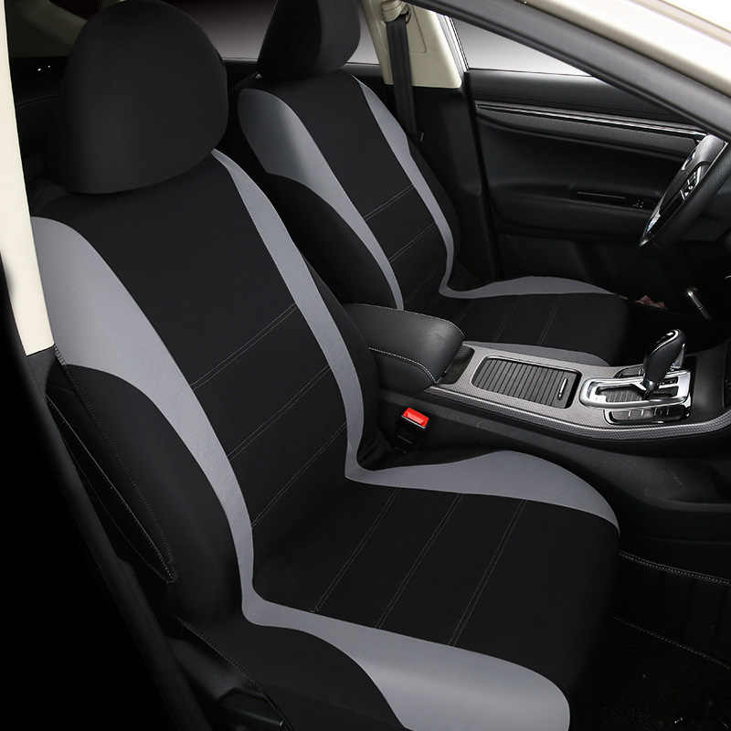 1 conjunto indoor suprimentos de carro capa de assento do carro universal capa de assento da frente tecido almofada do assento de carro almofada de proteção de assento de carro capa de assento de carro