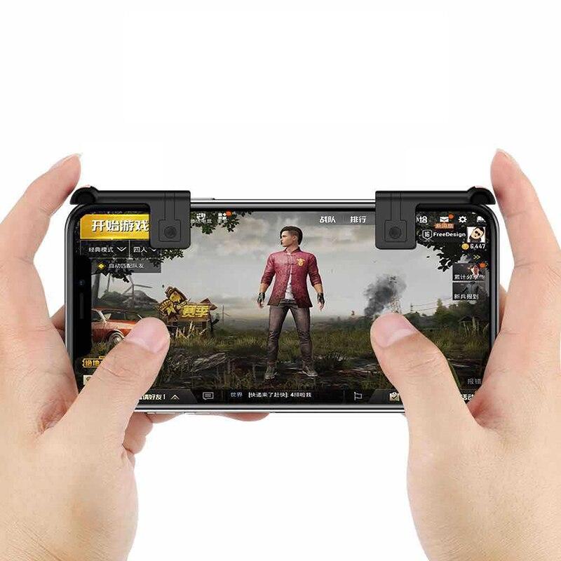 Игровой триггер PUBG телефон мобильный контроллер геймпад кнопка ручка L7 один левый шутер игровой коврик Джойстик для iPhone 11 Android