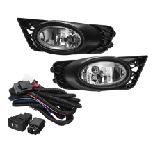 цена на Front Bumper Grille Driving Fog Lights 55W H11 with Harness Replacements for Honda Civic 4 Door Sedan 2009 2010 2011