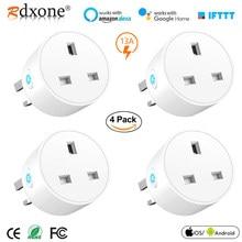 WiFi Socket Smart Plug UK Wireless Extender Remote Outlet Adaptor Energy Meter Smart Home Automation Alexa Google Compatible