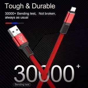 Image 5 - 2020 新 3.1A usbケーブルiphone × 8 7 6 6sプラス 5 5sケーブルhi 引張高速充電データケーブル充電appleデバイス