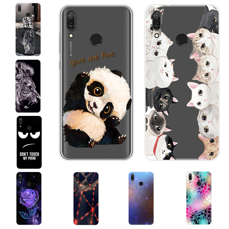 For <font><b>Huawei</b></font> <font><b>Y7</b></font> <font><b>2019</b></font> <font><b>Case</b></font> <font><b>Y7</b></font> Prime <font><b>2019</b></font> Silicone Cover Soft Phone <font><b>Case</b></font> For <font><b>Huawei</b></font> <font><b>Y7</b></font> <font><b>2019</b></font> Y 7 Y7Prime <font><b>Y7</b></font> Prime <font><b>2019</b></font> <font><b>Case</b></font> Funda image