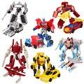 Transformation Roboter Spielzeug Engineering Fahrzeug Modell Educational Montage Verformung Spielzeug für Kinder Action Figur Auto