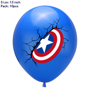 1set 3D Big Spider Supper Hero Man Mylar Foil Balloon Number Foil Balloons Birthday Party Decoration Supplies Children's Gifts 24