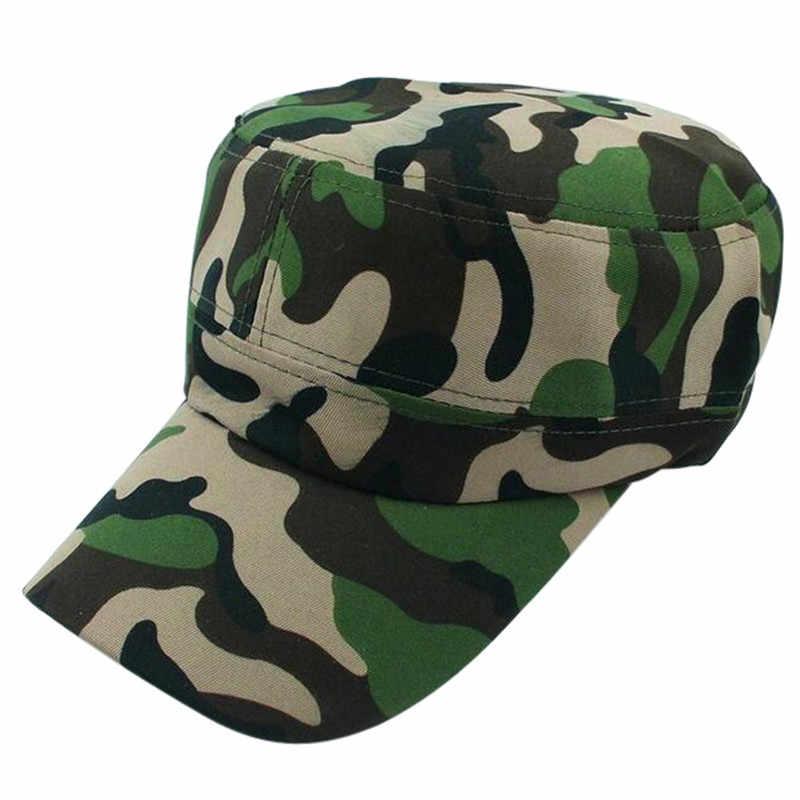 Outdoor Kamuflase Gunung Topi Mendaki Bisbol Cap Hip Hop Hat Cap Militer Topi Pria Berjemur Topi untuk Wanita