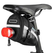 1.2L Portable Waterproof Bike Saddle Bag Cycling Seat Pouch Bicycle Tail Bags Rear Pannier Cycling Equipment Bicycle Bags bike saddle bag bike retro bags bicycle tail bag pu wood back seat tail pouch personalized cycling equipment bicycle accessories