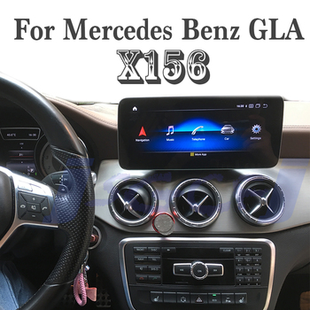 Car Stereo Audio Navigation GPS CarPlay 10.25 Inch For Mercedes Benz GLA 180 200 220 250 450 MB X156 NTG With 360 BirdView Navi image