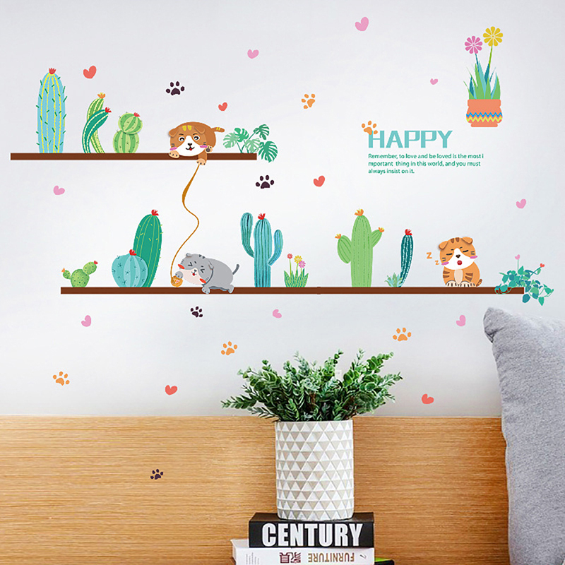 Наклейки на стену Мультяшные наклейки декорацион para el hogar