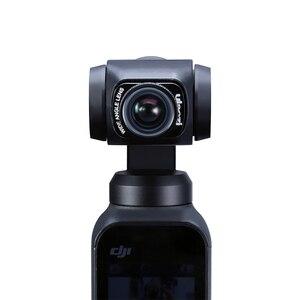 Image 4 - Ulanzi 1.33X Anamorphic Lens Voor Osmo Pocket Groothoek Lens Filmmaken Lens Magnetische Structuur Hd Gimbal Accessoires