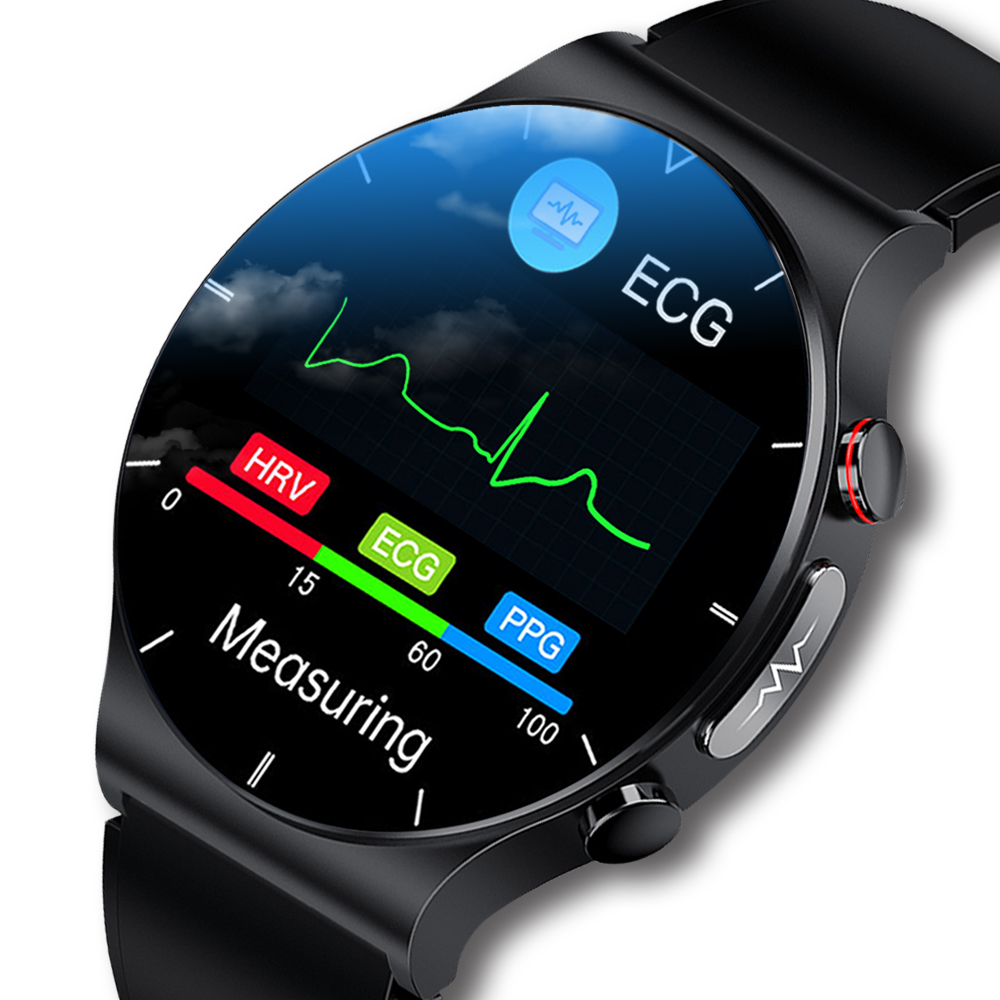 Permalink to 1.32 Inch ECG Men Smart Watch Ip68 Waterproof Wireless Charge Blood Oxygen Monitor for Android IOS Sport Fitness Smartwatch Men