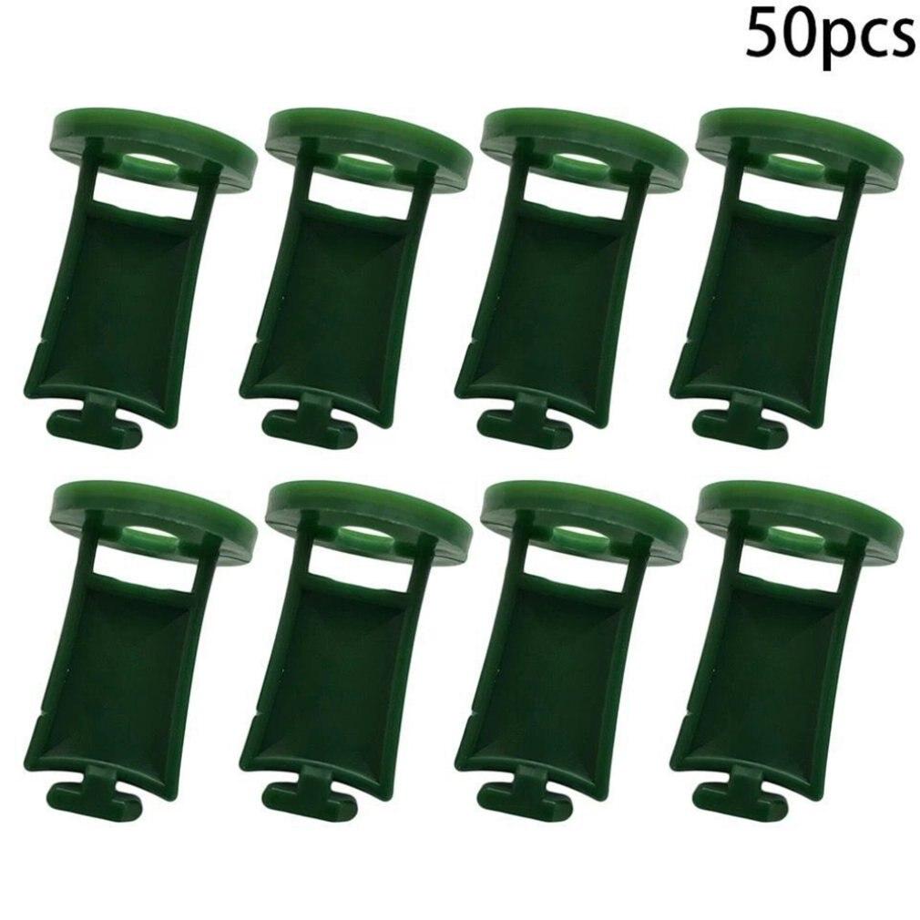50 шт.% 2Fbag теплица аксессуары I-образная крепление зажим простота установка водонепроницаемость переработка отсутствие загрязнения