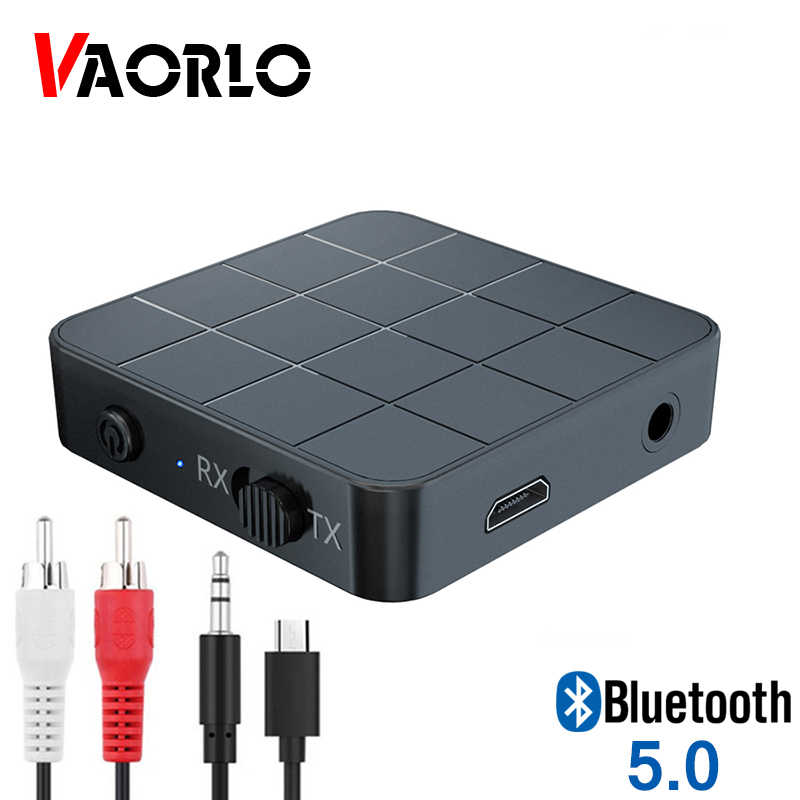 5.0 adapter bluetooth 2 w 1 Blutooth nadajnik i odbiornik audio 3.5MM AUX USB klucz sprzętowy bezprzewodowy z kabel rca na PC Car Home TV