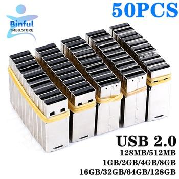 50PCS wholesale UPD Chip USB 2.0 chip 2GB 4G 8GB 16GB 32GB 64GB 128GB pendrive memory disk flash short universal board Udisk DIY
