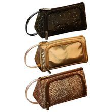 Buy Women Vintage Leather Large Capacity Pencil Case Pen Pouch Purse Cosmetic Makeup Bag Tools for Girl Student Office Ladies directly from merchant!