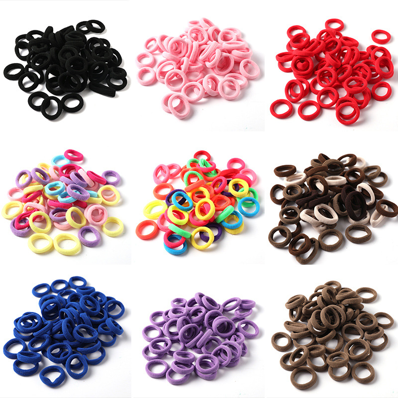 Elastic Hair Bands Stretch Hair Ties For Women Ponytail Holder Hair Accessories