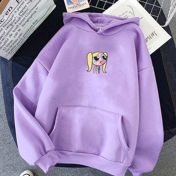 THE POWERPUFF GIRL THEMED HOODIE (8 VARIAN)