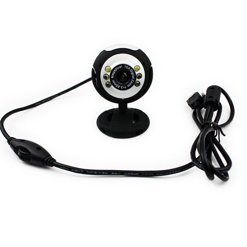 Practical Camera HD Webcams USB Camera Video Recording Web Camera Portable Drive-free Webcams For PC
