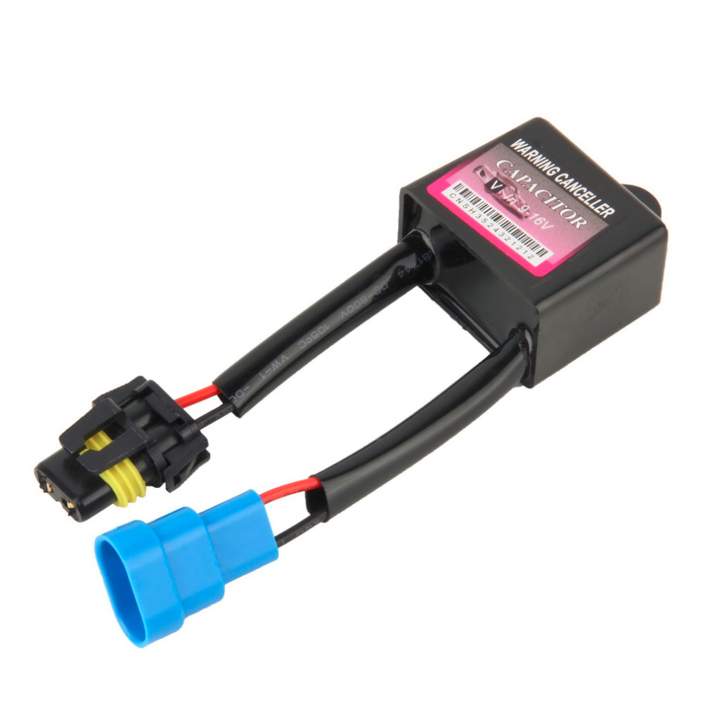 New Warning Decoder Canceller Resister Error Code Free Canbus Wiring Harness ANTI-FLICKER For Xenon For HID Light Decode Device