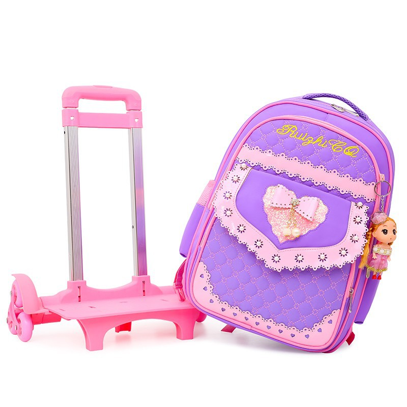 Korean-style Fashion Shoulder Schoolbag For Elementary School Students Burden Relieving Waterproof CHILDREN'S Rucksack Customiza