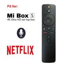 Новый XMRM 006 для Xiaomi MI Box S MDZ 22 AB Smart TV Box Bluetooth голосовой РЧ пульт дистанционного управления Замена