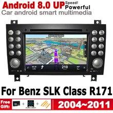цена на For Mercedes Benz SLK Class R171 2004~2011 NTG HD Screen Android Car GPS Navi Map Stereo Original Style Multimedia Player Radio