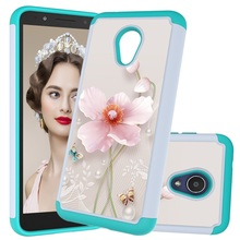 2 In 1 Hybrid Shockproof Case for Alcatel 1X Evolve /TCL LX / IdealXtra 2018 Cover A30/ Tetra Hard PC Soft TPU Coque