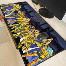 MRGBEST Extra Large Mouse Pad  Gaming Mousepad Anime Saint Seiya Gold Saints  Natural Rubber with Locking Edge Gaming Mouse Mat