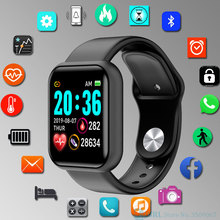 Square Smart Watch Men Women Smartwatch For Android IOS Electronics Smart Clock