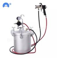 Colorful Pneumatic Pressure Spray Paint Gun Air Spray Pressure Barrels Feeding equipment