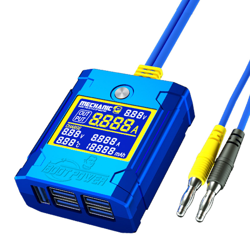 New Mechanic iBoot Power Supply Power Control Test Cable for iP 6 7 8 X XSMAX 11 Pro max Android DC Power Control Line