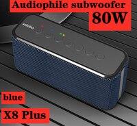 XDOBO 80W super appassionati bluetooth altoparlante portatile boom box subwoofer subwoofer super bass USB/TF card music center sound bar