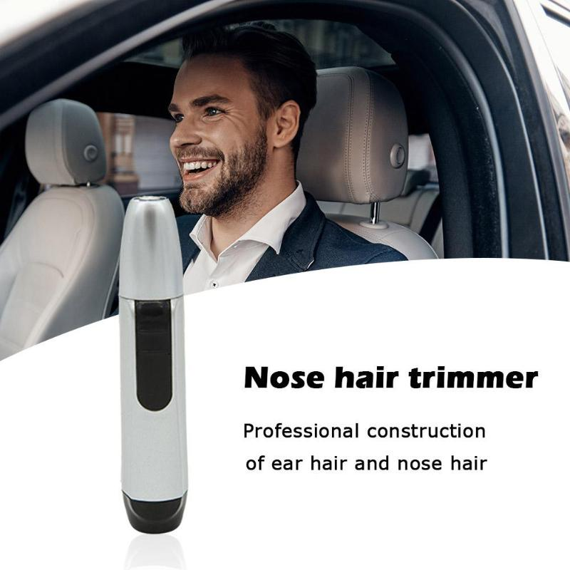 Rechargeable Nose Hair Removal Trimmer Electric Ear Hair Trimmer Fast Charging For Men Women Safe Face Care Shaving Device Tool