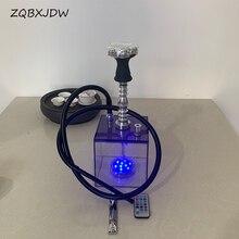 ZQBXJDW 2020 New Electronic Hookah Arab Acrylic T-type Hookah