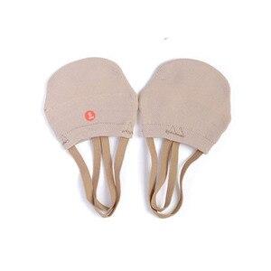 Soft Half Knitted Socks Girls Rhythmic Gymnastics Toe Shoes Ginastica Elastic Dance Feet Protection Shoes Ballroom Accessories