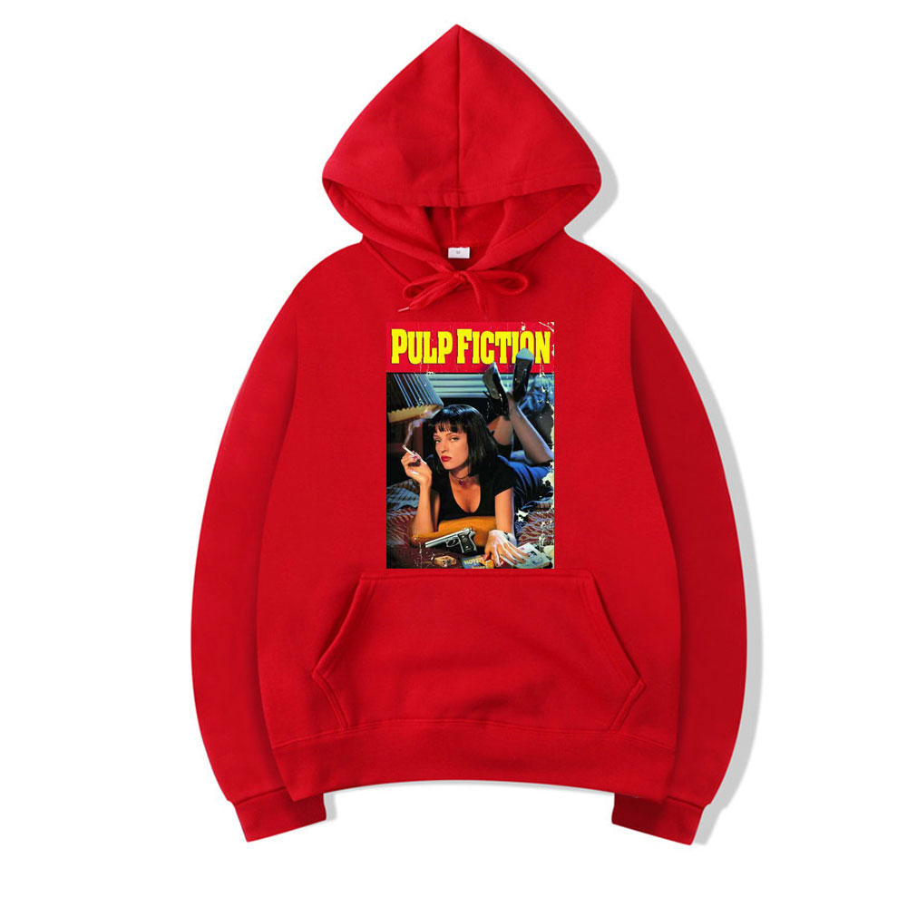 ALI shop ...  ... 4000199161345 ... 5 ... Pulp Fiction Autumn Man Fleece Hoodies Mia Wallace Men's Hoodie White Black Sweatshirts Hoody Men Long Sleeve Streetwear Clothes ...