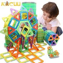 100 298pcs Blocks Magnetic Designer Construction Set Model & Building Toy Plastic Magnetic Blocks Educational Toys For Kids Gift
