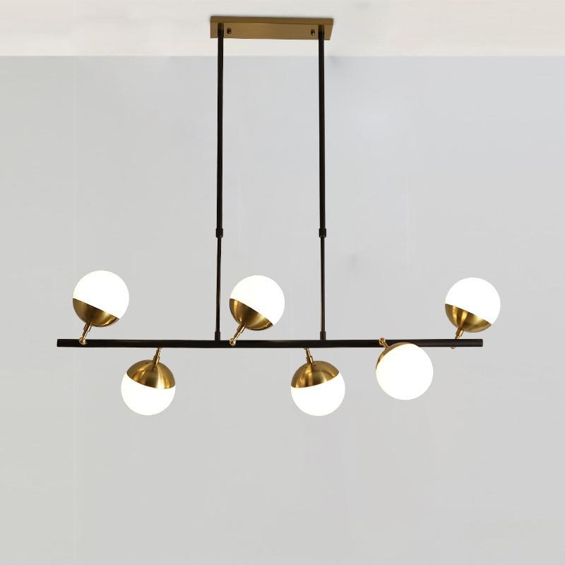 Modern Hanglamp Luminaria Pendente Glass  Restaurant  LED  Pendant Lights Bedroom Luminaire Deco Chambre