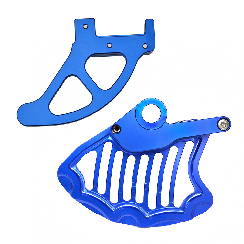 Front Rear Brake Disc Guard Protector for <font><b>Husqvarna</b></font> <font><b>TE</b></font> FE TX FX <font><b>300</b></font> 150 250 350 450 501 500 with Magura caliper 2018 <font><b>2019</b></font> 2020 image